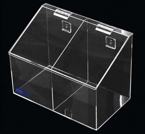 4021-02 Medium 2 Compartment Bins