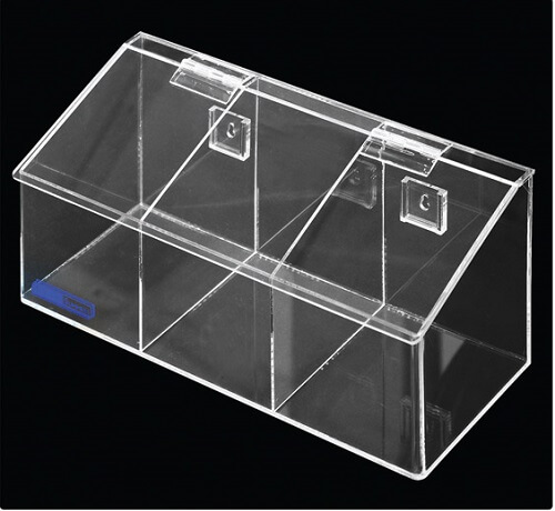 4021-03 Medium 3 Compartment Dispenser Bins