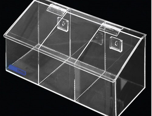 4021-03 Medium 3 Compartment Dispenser Bins