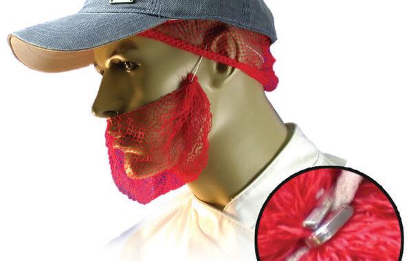 2976M Metal Detectable Beard Net